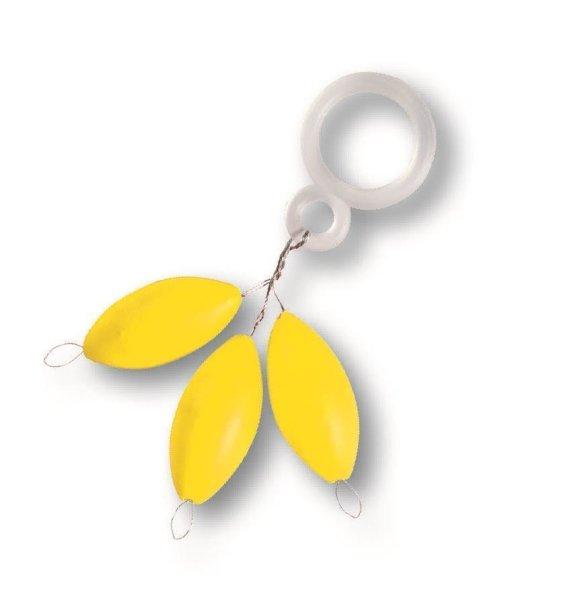Fixpilot oval gelb 62