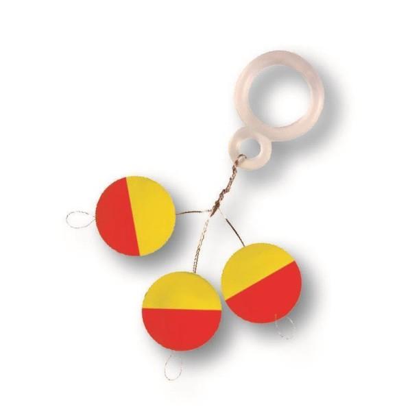 Fixpilot rund gelb/rot 15mm