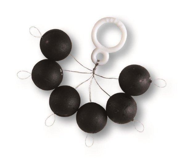 Fixpilot rund schwarz, 10mm,