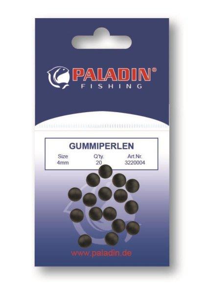 Gummiperle schw. 3mm