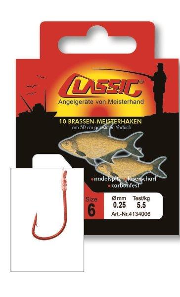 Cl. Brassenhk. geb. rot Gr.6