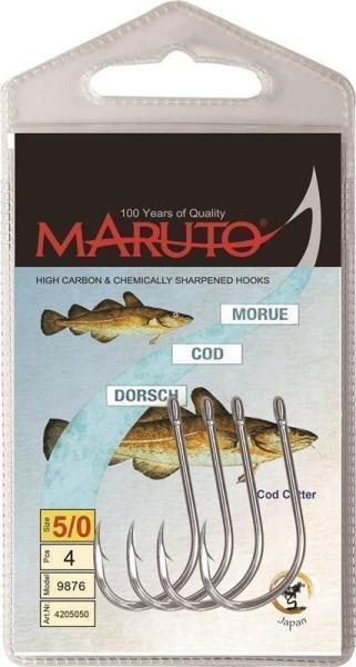 Maruto Oehr Dorsch silber Gr.8/0 (9876)