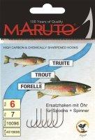 Maruto Einzelhk. Gr.4 für Spoons+Spinner