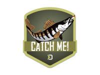 Aufkleber Delphin CatchME! ZANDER